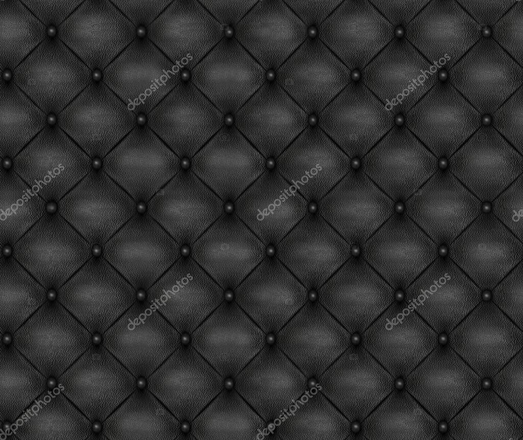 Black leather chair texture - Seamless Pattern Of Black Upholstery Leather Furniture 3 D Illustration Digital Texture