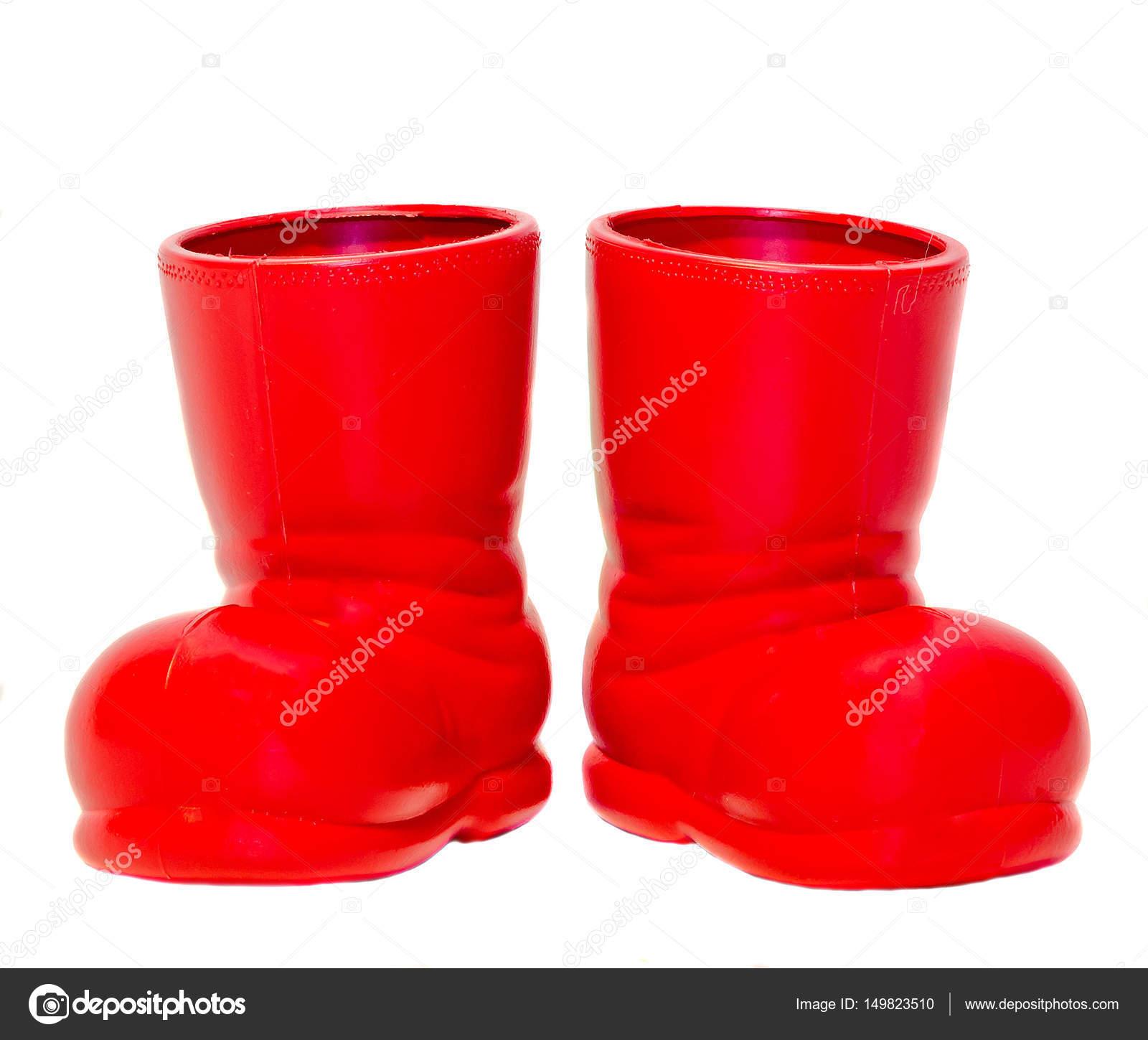 фото красные сапоги
