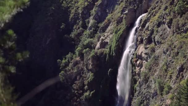 Vodopád v lese, Chile
