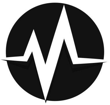 pulse, beat, heartbeat icon