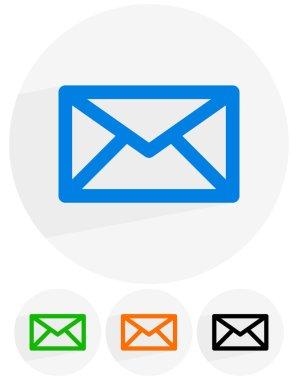 email, letter, envelope icons set