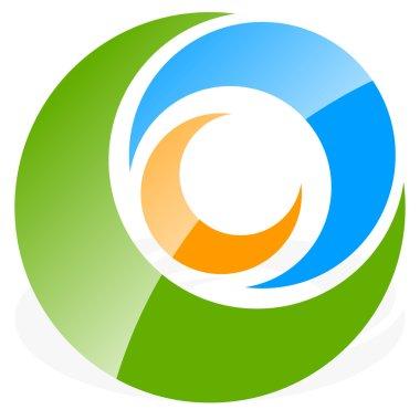 Spiral, circles logo.