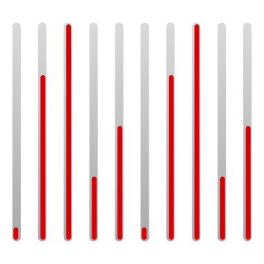 Eq - equalizer, level indicators