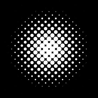 Circle halftone pattern / texture