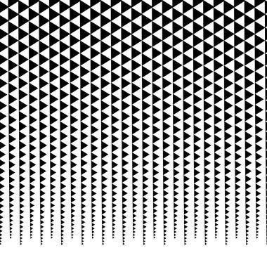 Horizontally repeatable halftone background