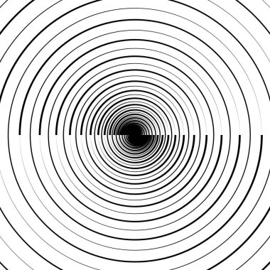 Ripple pattern with concentric circles.