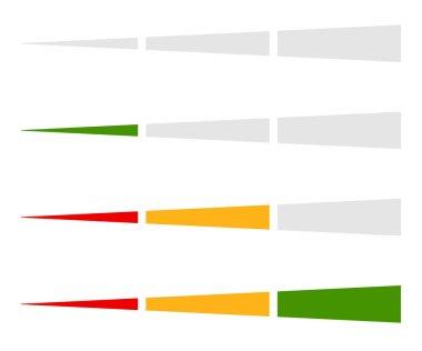Level indicator, progress bar
