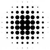 Vzorek polotónů tečky