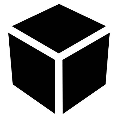 box or cube geometry icon