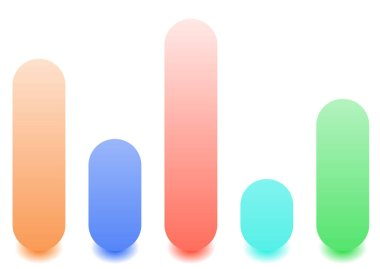 Bar chart / bar graph icons