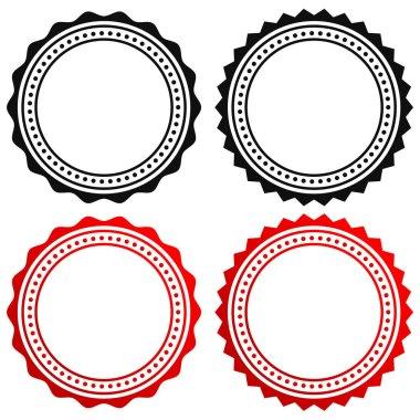 Contour of circular certificate