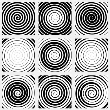 radial patterns set