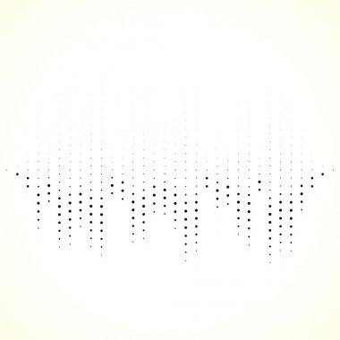 Dotted equaliser pattern
