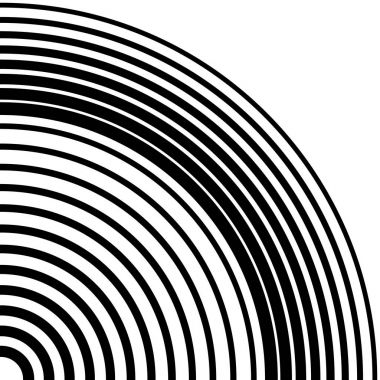 concentric rings circular pattern