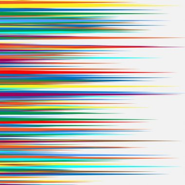 colorful random overlapping shapes