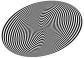Koncentrikus ovális alkotó spirál