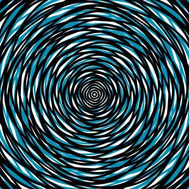 irregular circular pattern