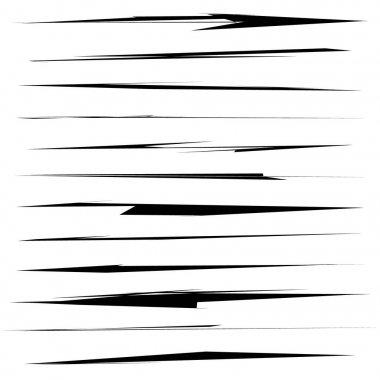 Dynamic sketchy grungy brushstrokes