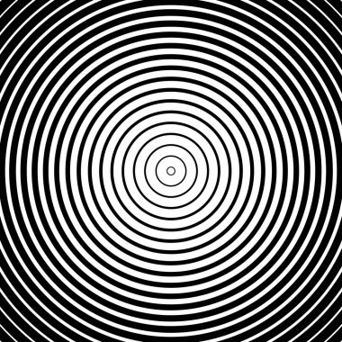 texture with concentric circles
