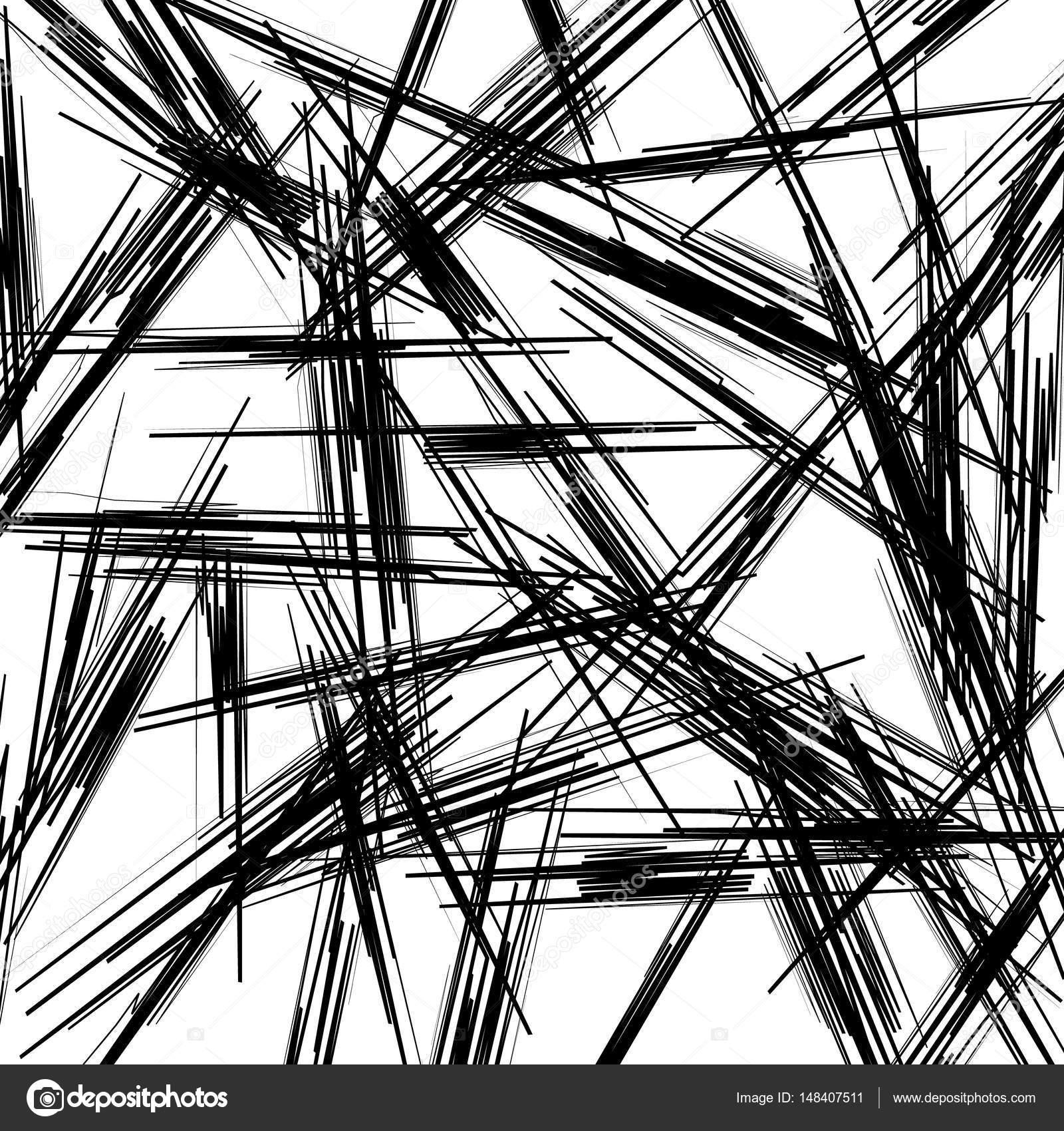 Texture with random zigzag lines — Stock Vector © vectorguy