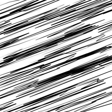 random scattered geometric shapes