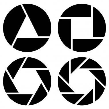 camera lens symbols