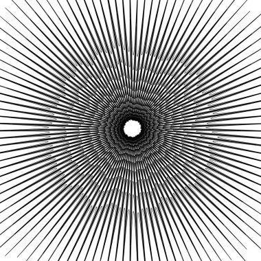 Concentric circular pattern