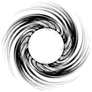 Geometric circular pattern