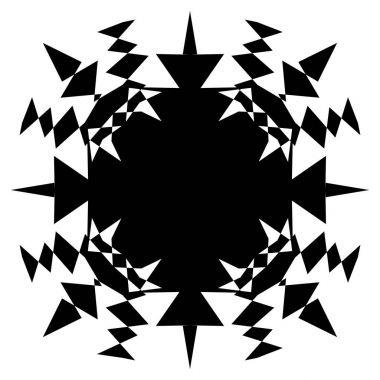 geometric square shape