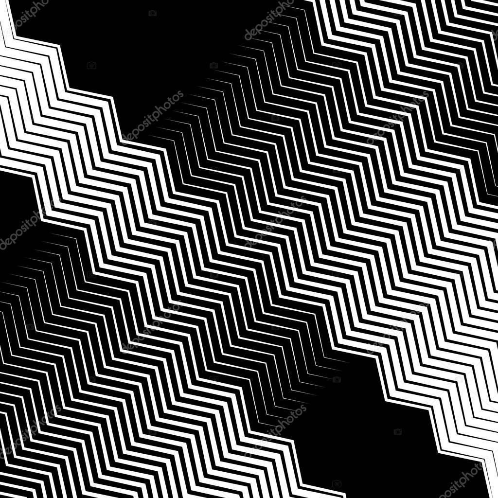 geometric monochrome pattern