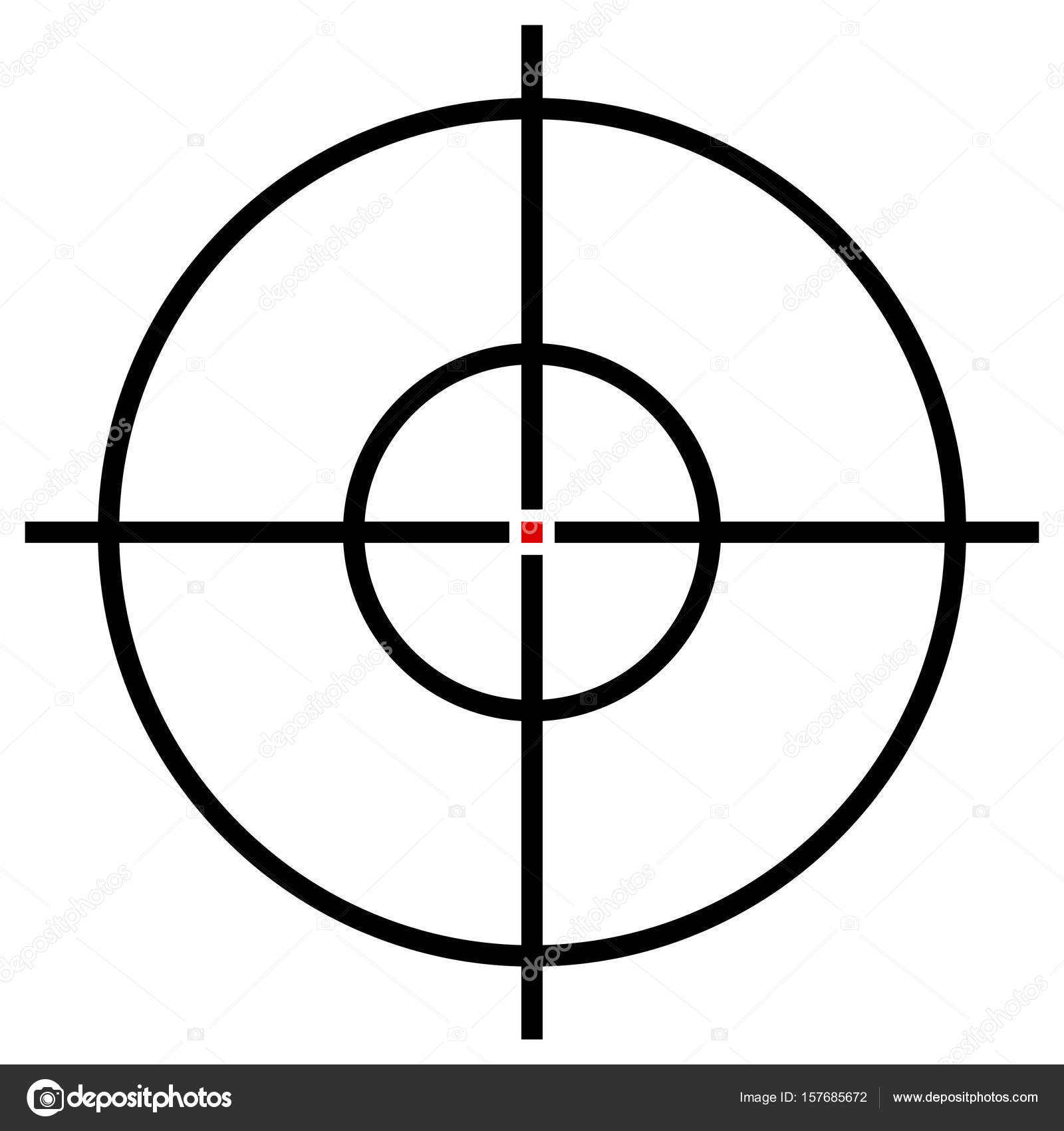 Target symbol isolated stock vector vectorguy 157685672 target symbol isolated stock vector buycottarizona Image collections