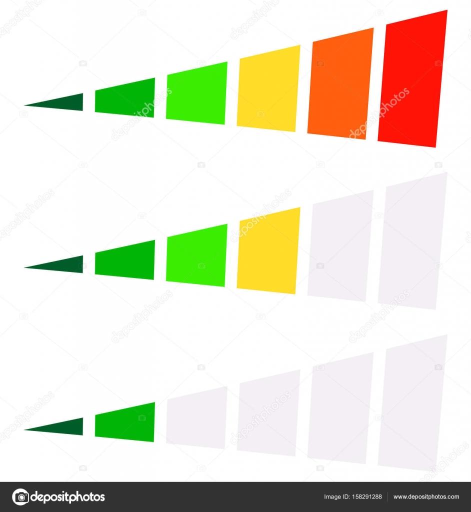 Conjunto de indicadores de progreso — Vector de stock © vectorguy ...