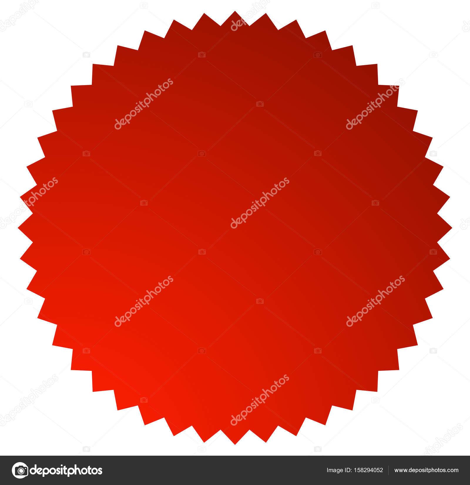 starburst shaped badge stock vector vectorguy 158294052 rh depositphotos com vector starburst badge starburst vector png