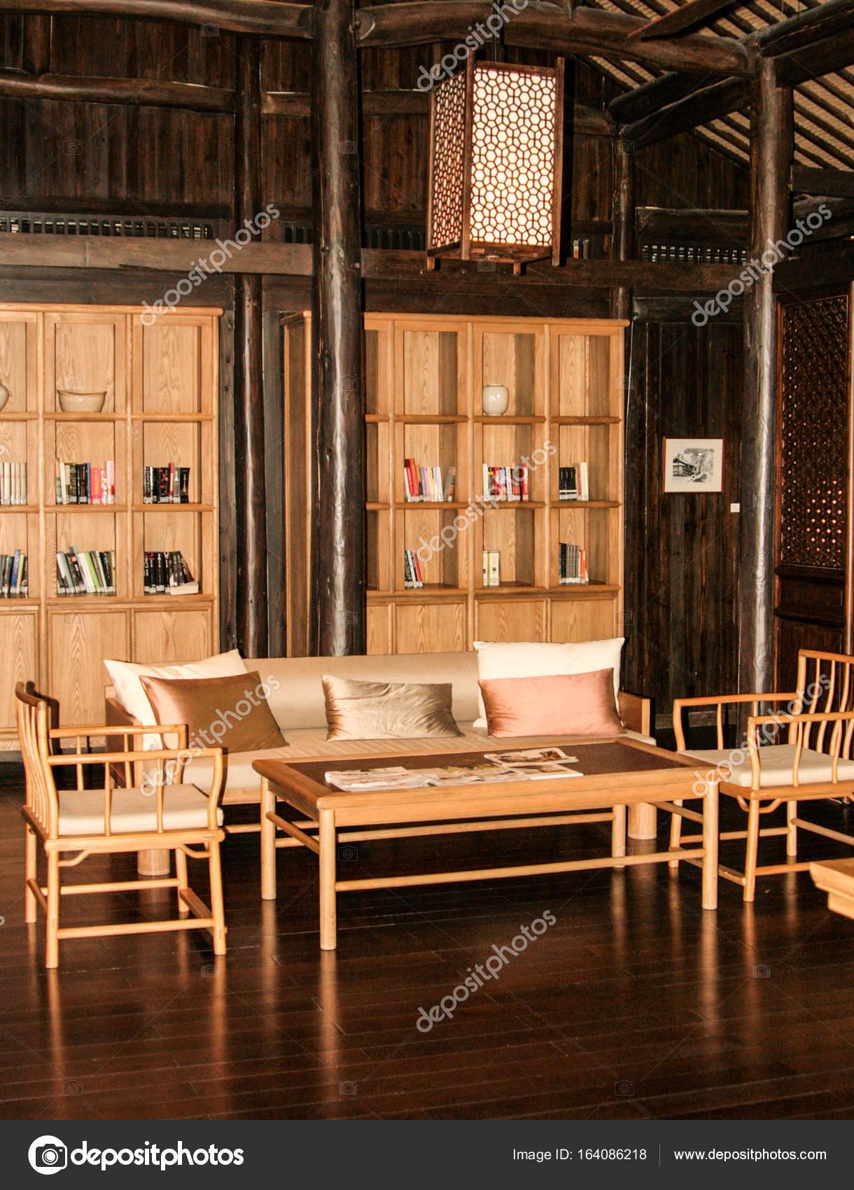 Chinesische traditionelle Interieur — Stockfoto © Linusek #164086218