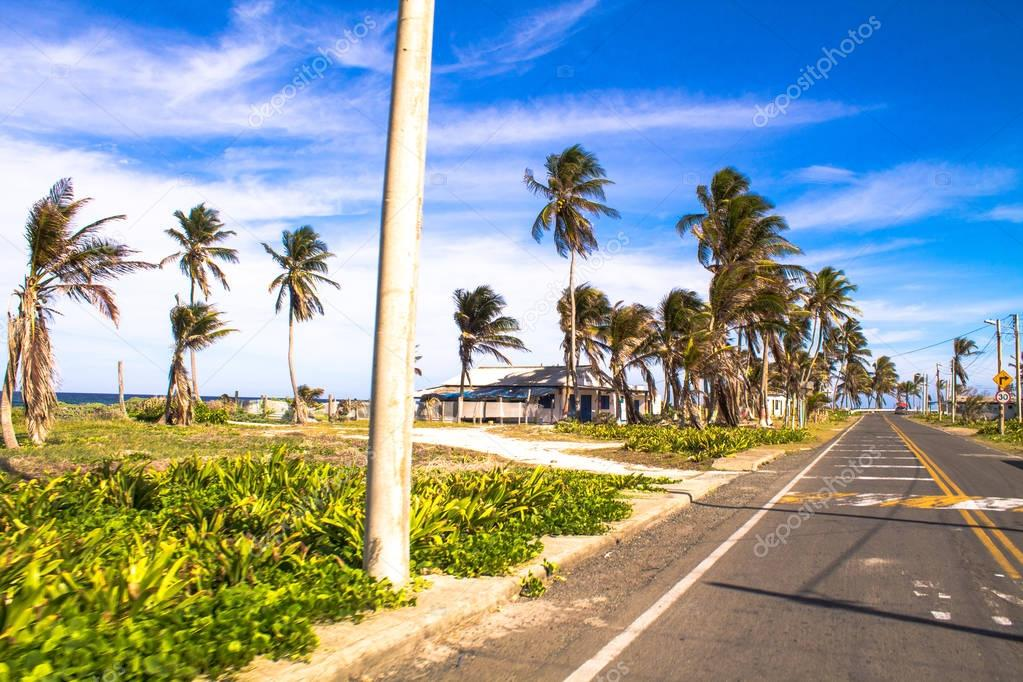SAN ANDRES ISLAND ROAD - COLOMBIA