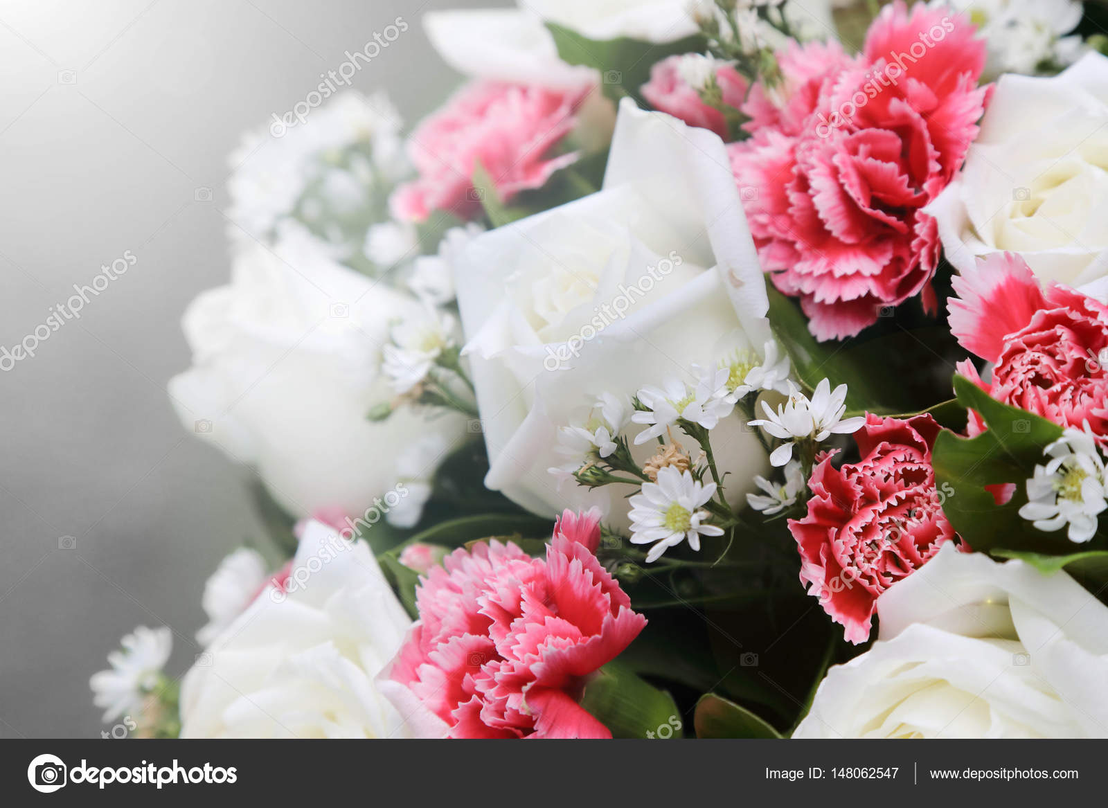 White rose flower bouquets stock photo charnsitr 148062547 background of white rose flower bouquets photo by charnsitr izmirmasajfo