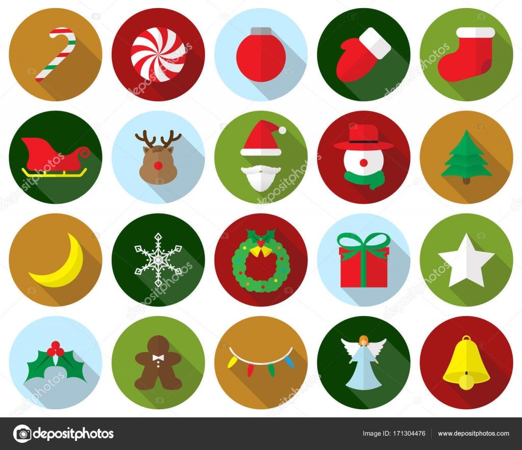 Dibujos de feliz navidad a color