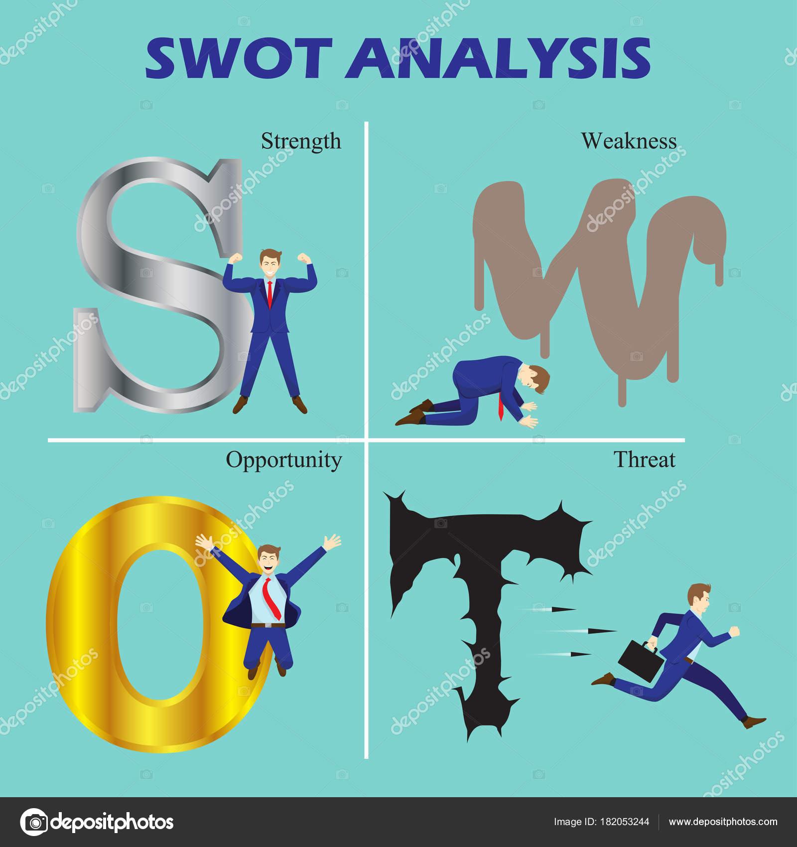 Diagrama de anlise swot com empresrios vetores de stock nattee diagrama de anlise swot com empresrios vetores de stock ccuart Image collections
