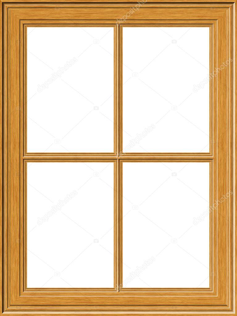 marco de ventana de madera — Foto de stock © artshock #129667936