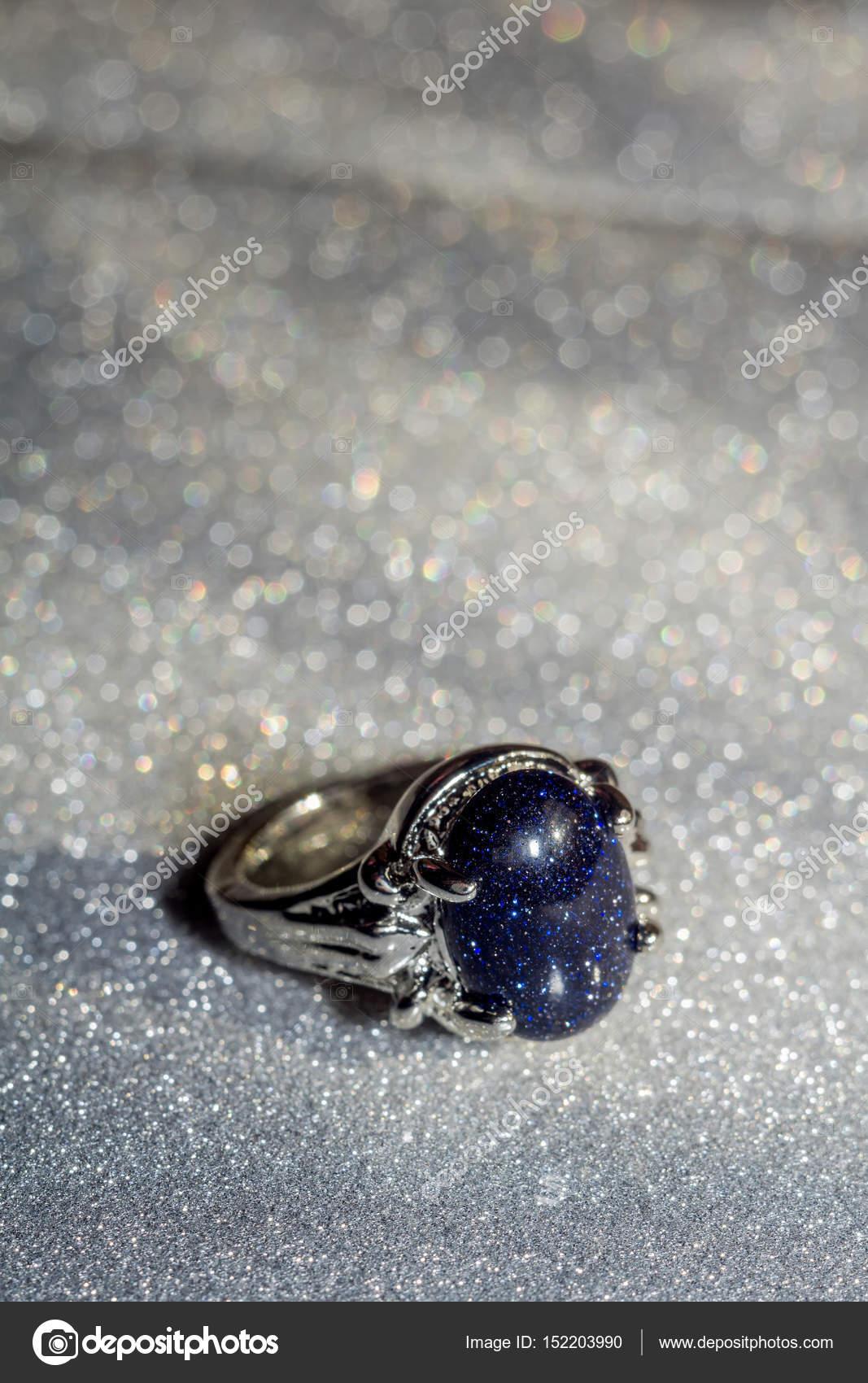 Blue Aventurine Ring — Stock Photo © artshock #152203990