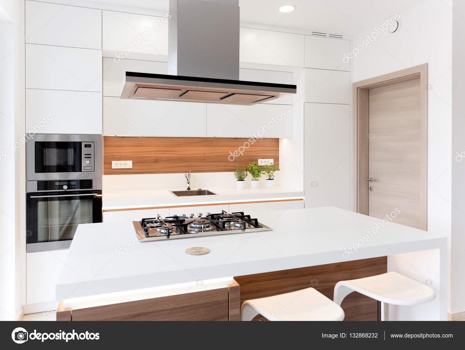 Moderne einfache Küche — Stockfoto © jrp_studio #132868232