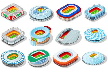 Russia world cup 2018 stadiums