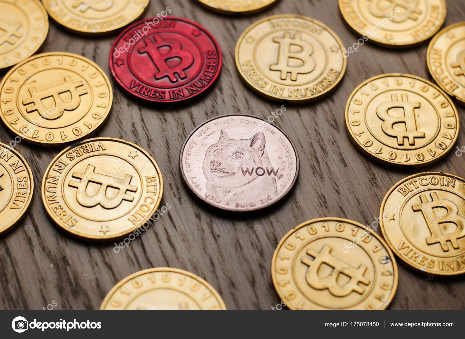 Dogecoin Physical Coin : Coins Paper Money Doge Coin Gold ...