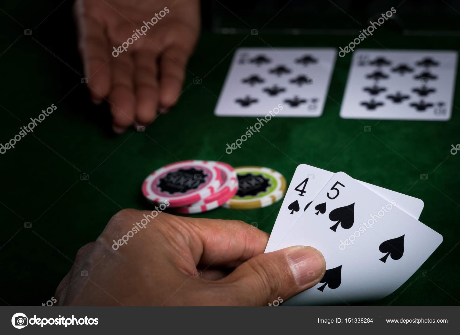 ставка в карточной игре