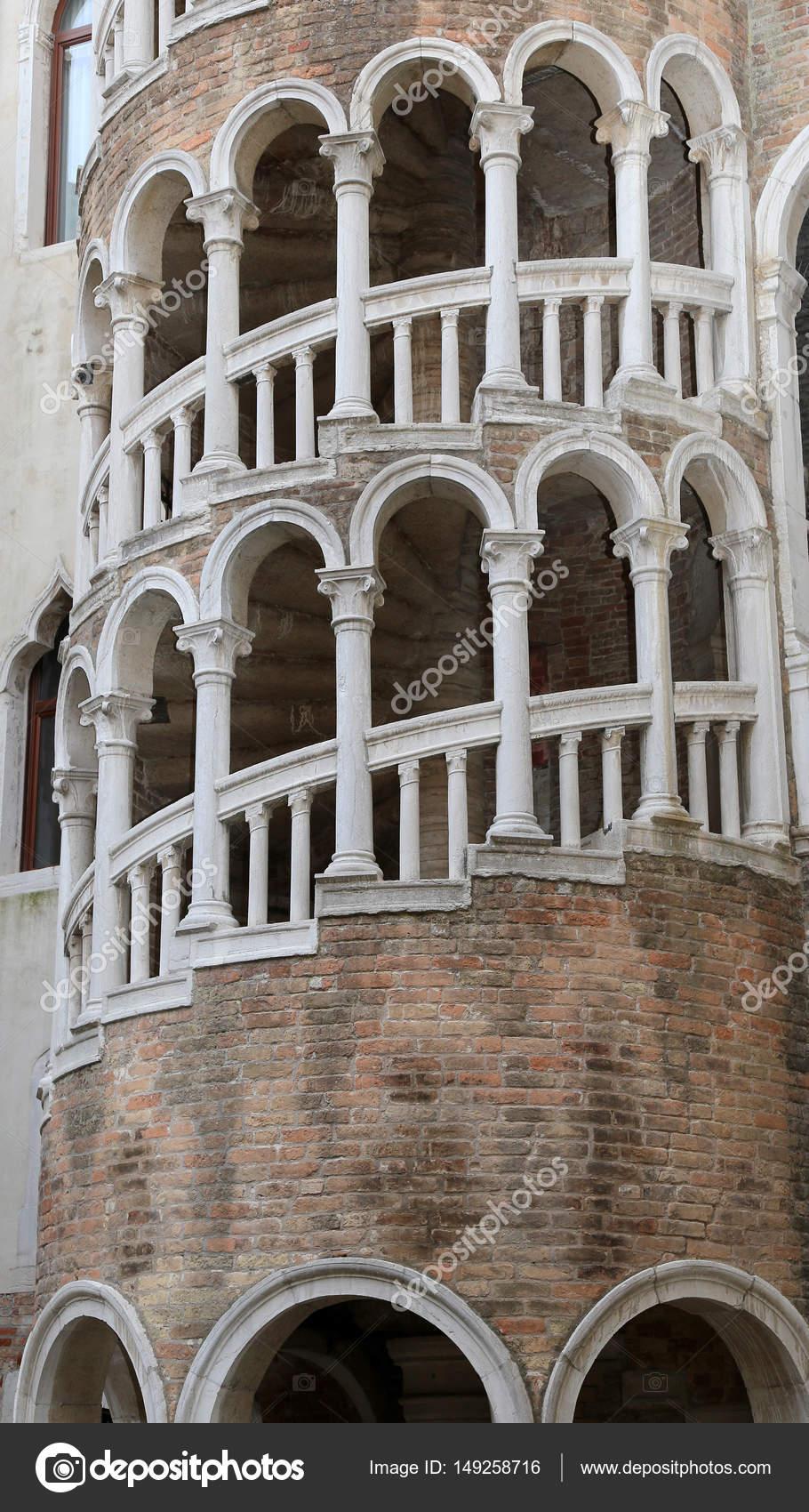 escalier en colimacon venise