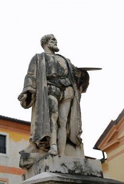 Bassano del Grappa, VI, Italy - October 18, 2015: statue of JACO