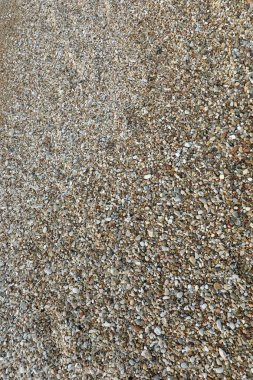 background of many very small pebbles