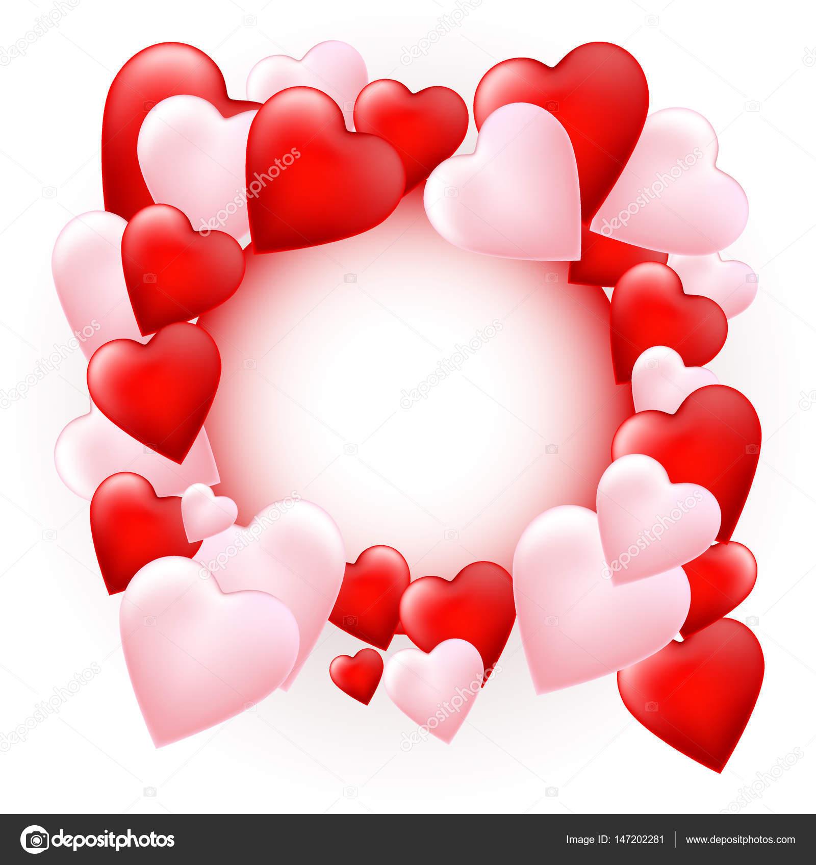 fond coeur saint-valentin — image vectorielle anggutchandra © #147202281
