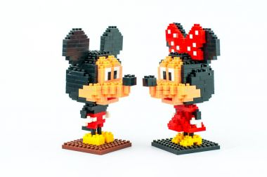 Mickey and Minnie Mouse Micro Blocks