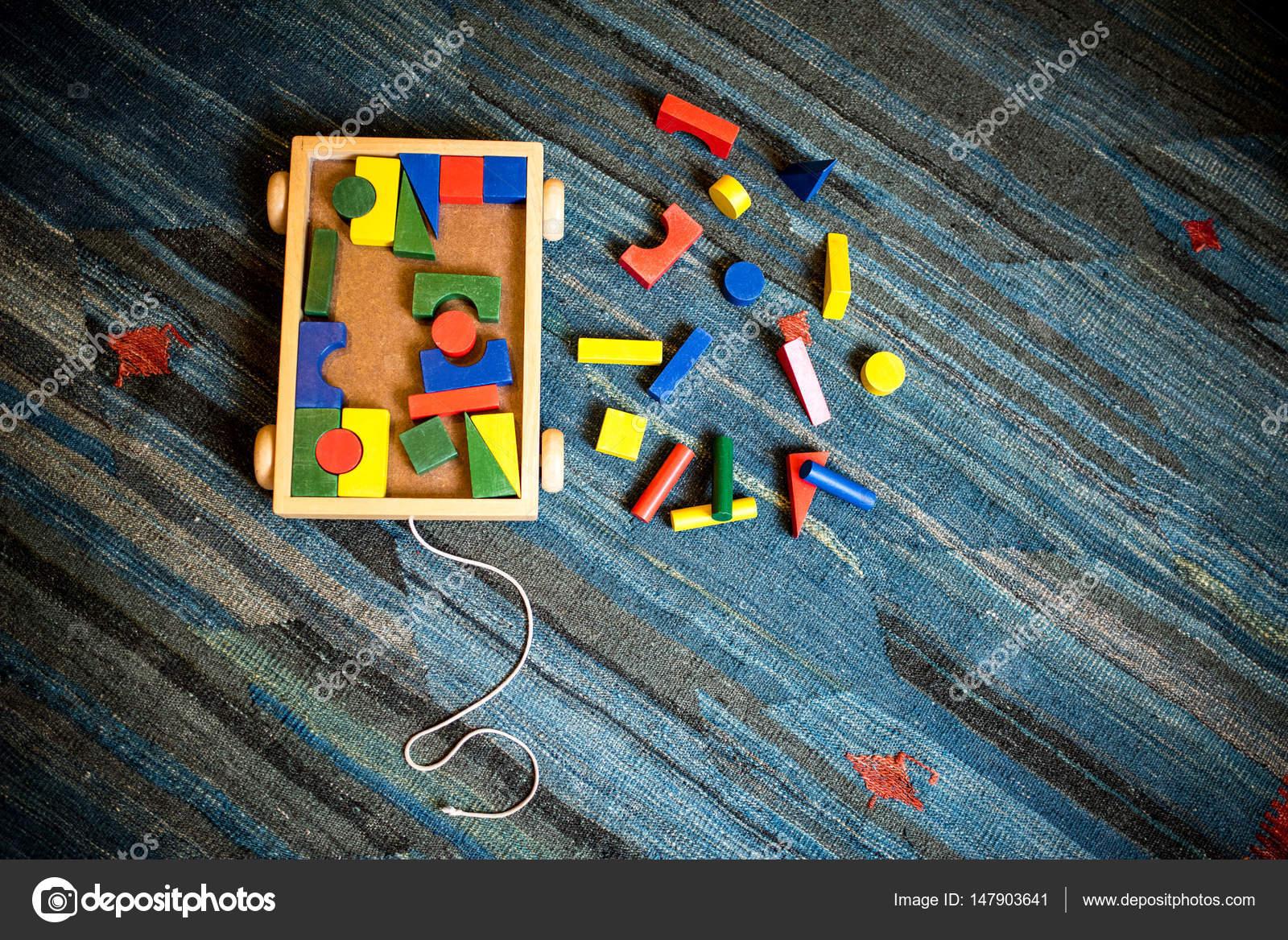De Para Niños Un Madera Geométricas Construir Juguetes Didáctico EeWY2DH9Ib
